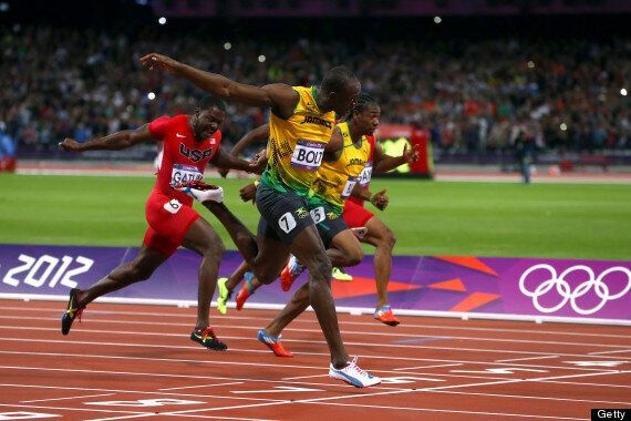 Usain Bolt Wins Gold In 100m Final At The London 2012