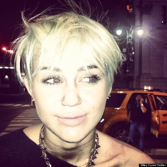 Miley Cyrus Haircut: Star Is Almost Unrecognisable As She Debuts A New Platinum Blonde Pixie Crop