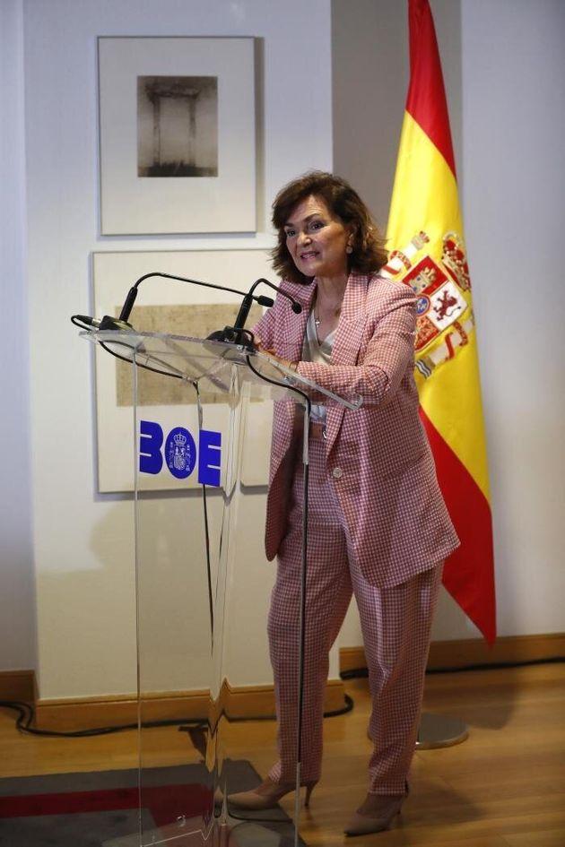Calvo aclara que Sánchez ha ofrecido a Podemos