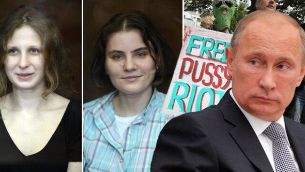 Pussy Riot Trial: Punk Trio Sentenced To Two Years Each For Anti-Putin