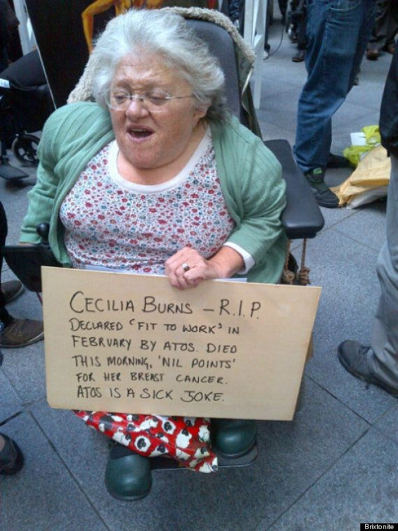Cecilia Burns Dead: Benefits Campaigner, Who Appealed Against 'Fit To Work' Report By Atos,