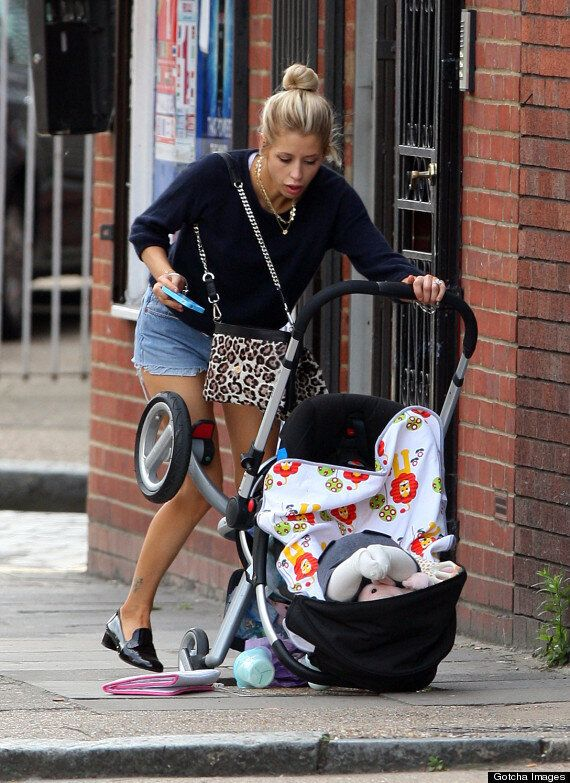 Peaches Geldof Accidentally Tips Baby Son Astala Out Of His Buggy