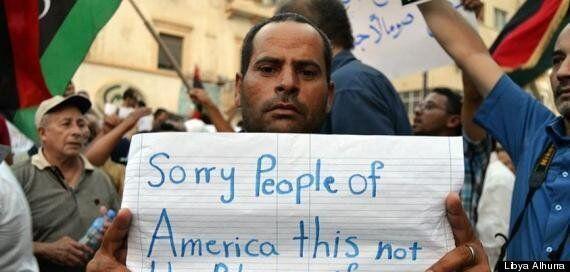 Benghazi Embassy Attack: Libyans Demonstrate Against Raid That Killed Chris Stevens
