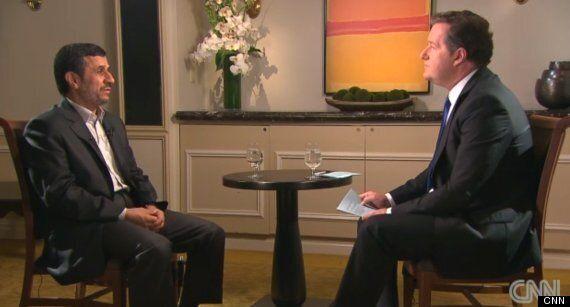 Mahmoud Ahmadinejad, Iranian Leader, Denies Holocaust On CNN's Piers Morgan Tonight Show Ahead Of UN...
