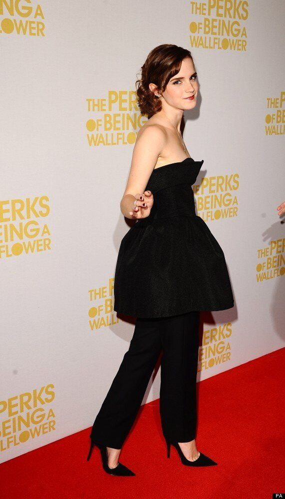 Emma Watson Wears Bizarre Dress/Trouser Hybrid To Screening Of Her New Film. World Asks,