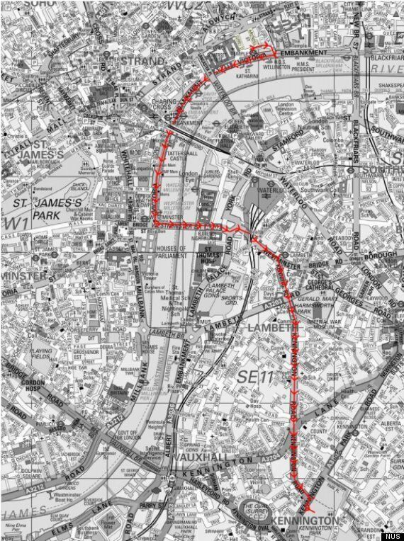 NUS Releases Route Of Demo 2012, The Student Protest Planned For