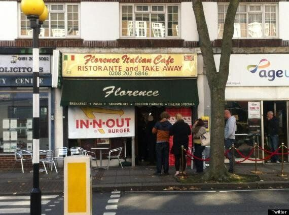 In-N-Out Burger's Hendon Pop-Up Causes London
