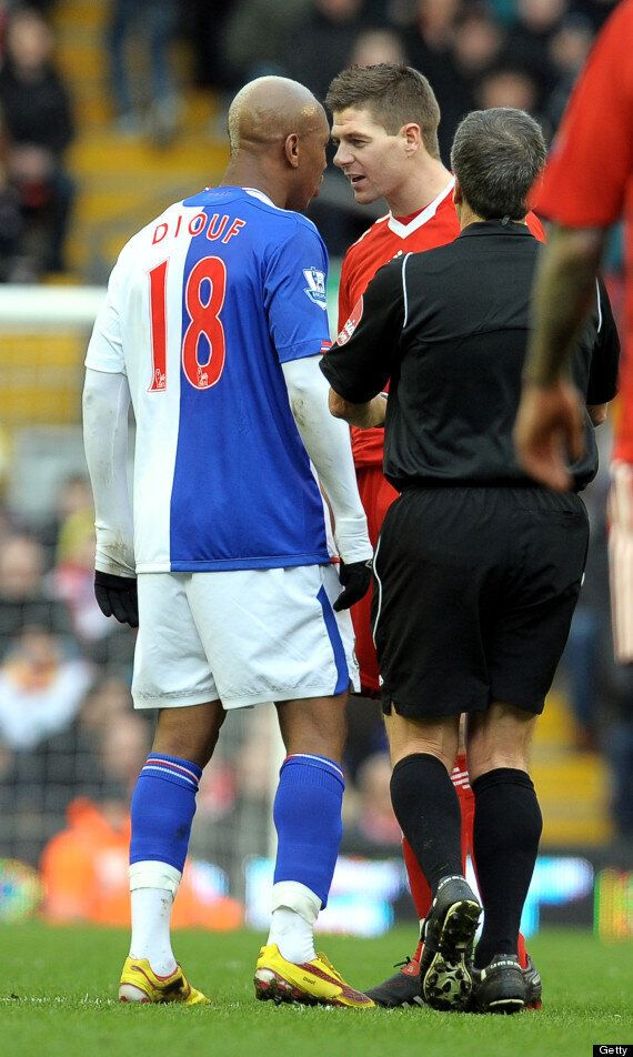 El Hadji Diouf Claims Steven Gerrard Was 'Jealous' Of Him At