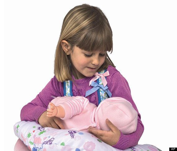 Breast Milk Baby: Suckling Doll By Berujan Toys Hits