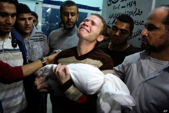Jihad Misharawi, BBC Arabic Worker Pictured Holding Baby Son Omar Killed In Gaza