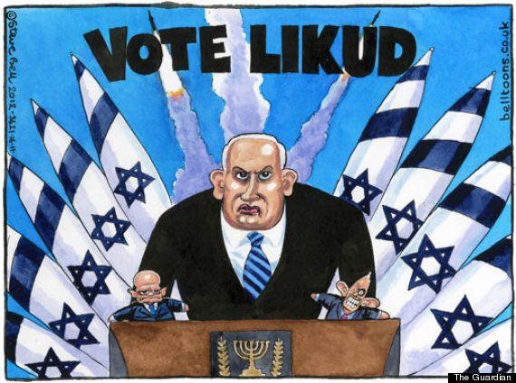 Gaza Attacks: Guardian's Steve Bell Sparks Outrage Over Israel 'Puppet Master'