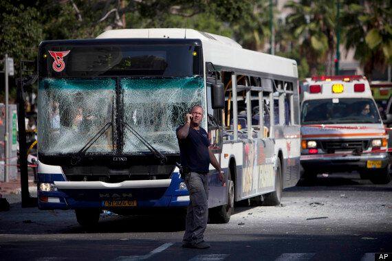 Tel Aviv Bus Explosion Injures At Least 21, Israeli Police Suspect Terror Attack (PICTURES,