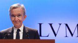 Bernard Arnault devient le premier Français à dépasser les 100 milliards de