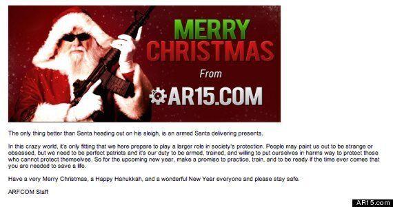 AR-15 Rifle Used In Sandy Hook Shooting Becomes Popular Christmas Gift As Gun Sales