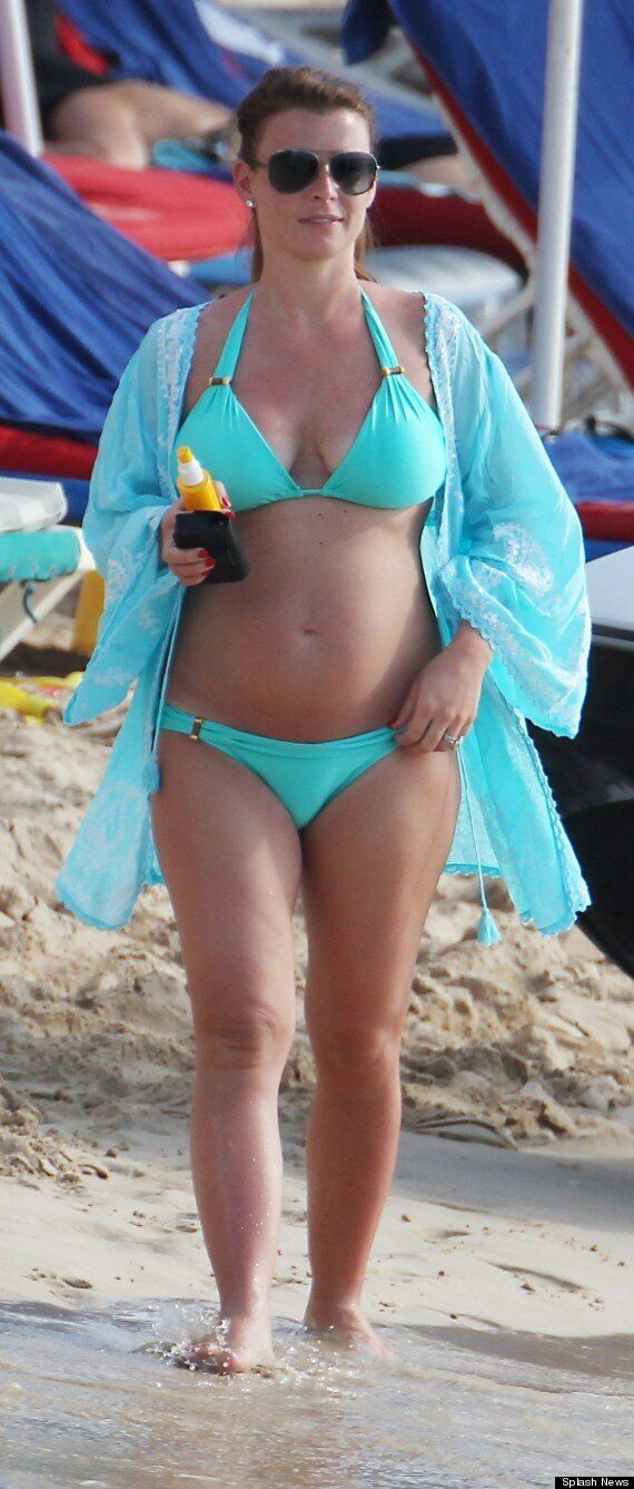 Coleen Rooney Leaves Hubby Wayne At Home To Enjoy New Year In Barbados With Son, Kai