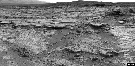 Mars Rover Finds Transparent 'Flower' Embedded In Rock