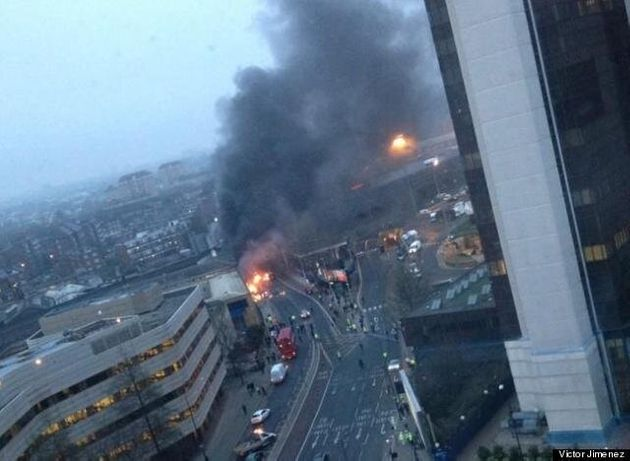 Vauxhall Helicopter Crash: Construction Workers Warn Choppers Fly Too Close To London