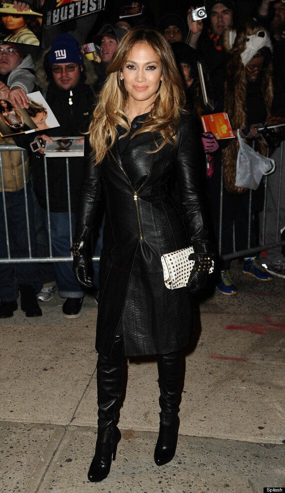 Helen Flanagan And Jennifer Lopez Go Hell For Leather In Kinky Boots