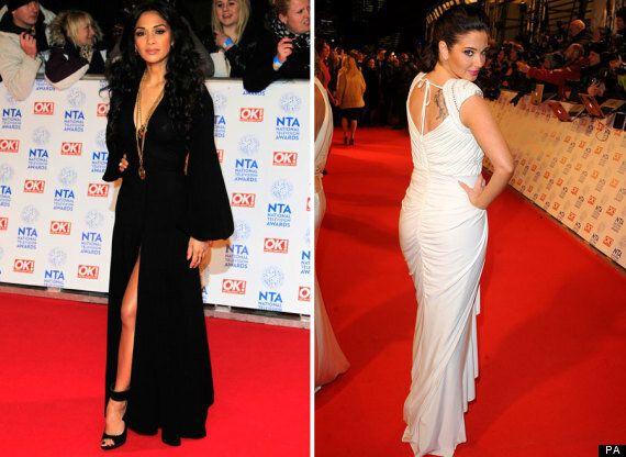 NTAs 2013: X Factor's Nicole Scherzinger And Tulisa Do Battle On The Red Carpet
