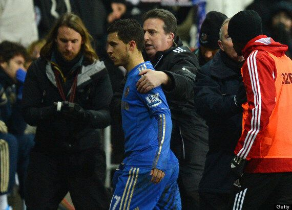Eden Hazard Charged By FA Over Kicking Ball Boy Charlie