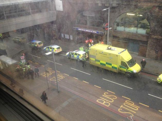 London Bridge Passengers 'Taken Ill', Police And Ambulance