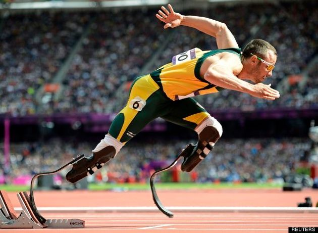 Oscar Pistorius Arrested After Paralympian Allegedly 'Shoots' Girlfriend Reeva Steenkamp