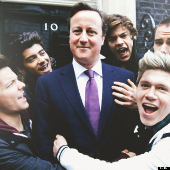 David Cameron's Duet With One Direction Planned For Comic