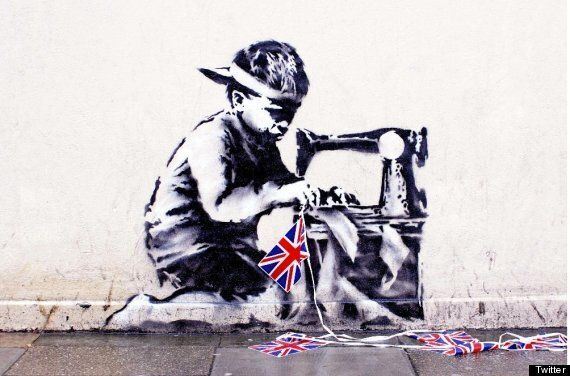 Banksy Graffiti Removed From Poundland Store, Now For Sale On US Auction Website For