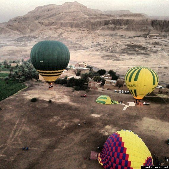 British Tourists Killed In Hot Air Balloon Crash In Luxor,