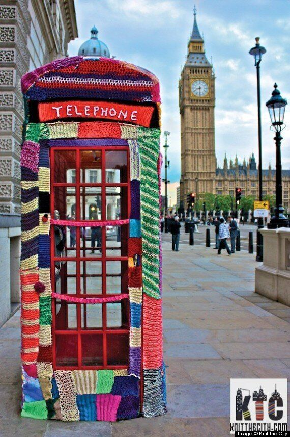 Guerrilla Knitting Used By Police To Make Leicestershire Neighbourhoods Feel