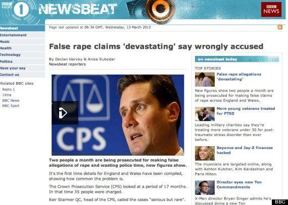False Rape Reporting: Women's Groups Urge Complaints Over 'Appalling