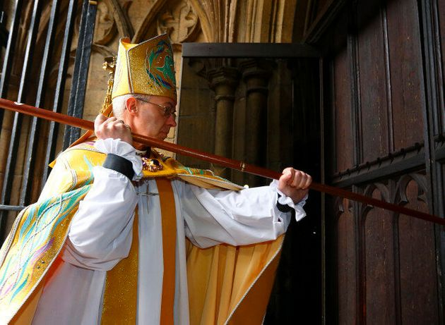 Archbishop Of Canterbury Justin Welby Enthroned In Canterbury