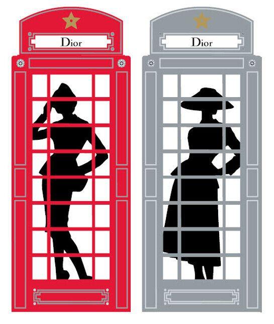 Paris to London: Dior at