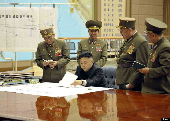 North Korea In 'A State Of War' With South Korea, According To KCNA State News Agency