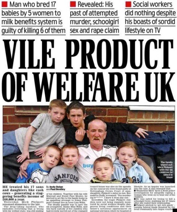 Daily Mail Front Page On Mick Philpott Provokes Online