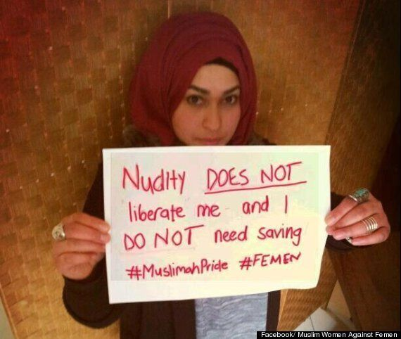 Muslim Women Against Femen: Facebook Group Takes On Activists In Wake Of Amina Tyler Topless Jihad