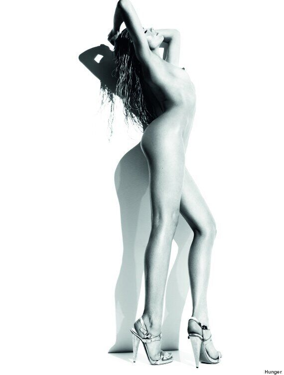 Abbey Clancy Poses Naked For Rankin In Hunger Magazine