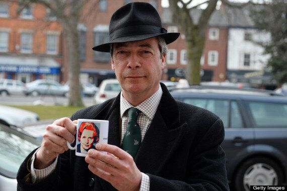 Ding Dong Thatcher Row: Nigel Farage Says 'Play The Bloody