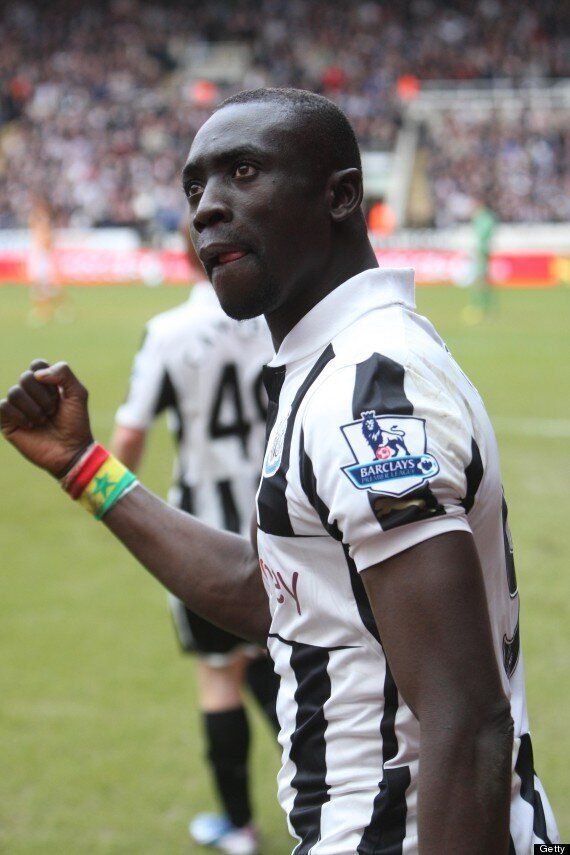 Papiss Cissé And Girlfriend Racially Abused