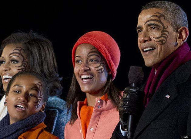 Barack Obama's YouTube Tattoo Pledge To Prevent Sasha And Malia