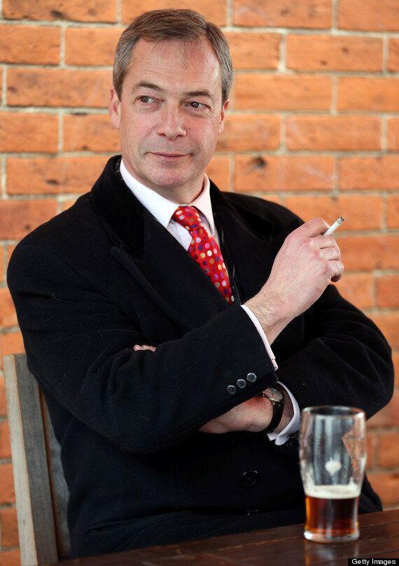 Nigel Farage Says Smoking Ban 'Silly And