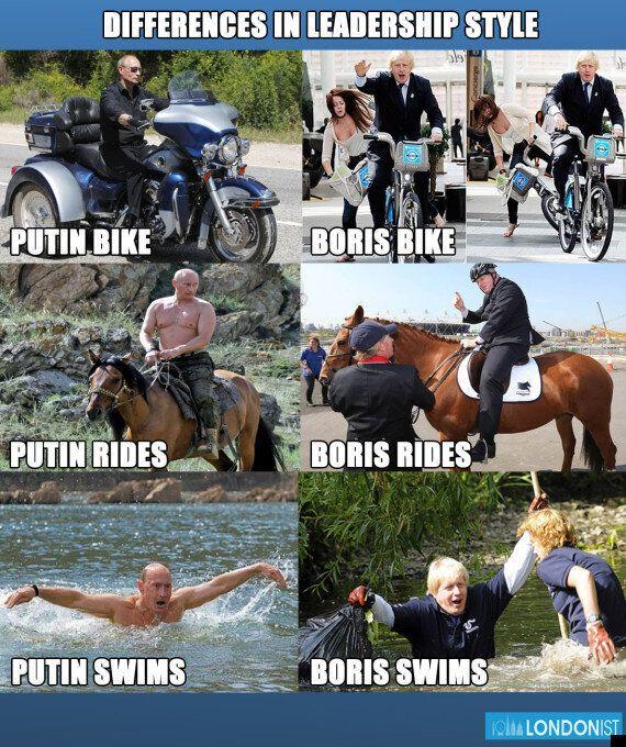 Boris Johnson Vs Vladimir Putin: Who Does It Better?