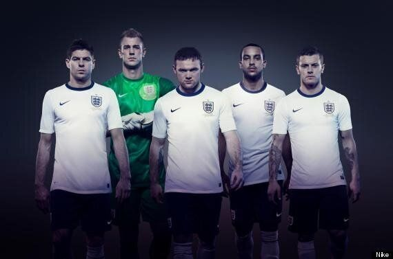Jack Wilshere Tweets New Nike England Kit