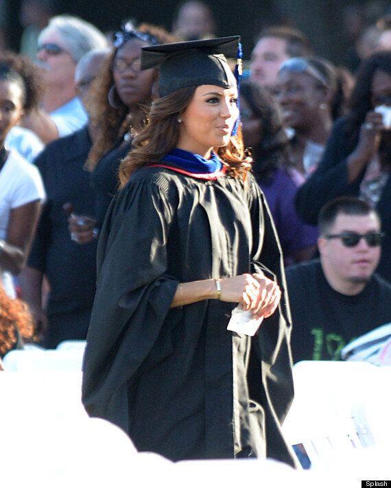 Eva Longoria Graduates As She Picks Up Masters Degree From California State University