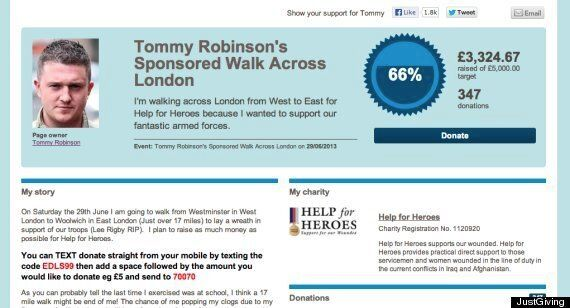 Woolwich Attack: Help For Heroes Will Not Accept Funds Raised By EDL Leader Tommy