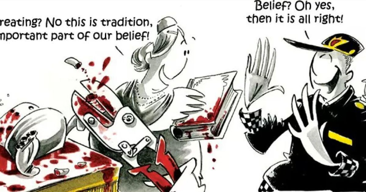 Circumcision Cartoon In Norwegian Newspaper Angers Jewish