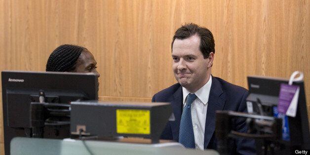 Osborne laughed off the