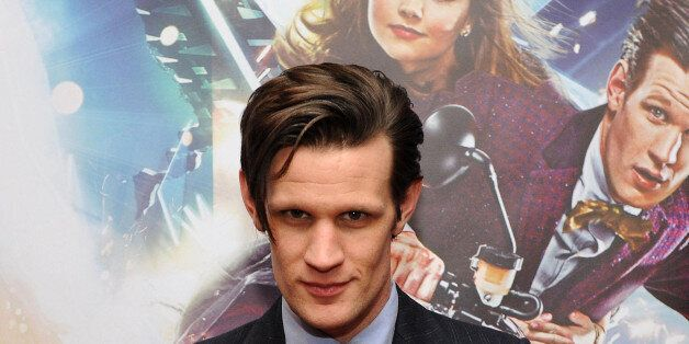 Matt Smith. The new Doctor Who will be unveiled live on television on