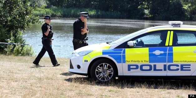 Woman's body found in lake at University of
