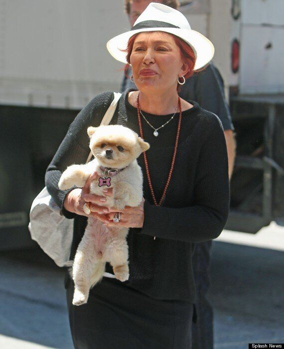 Sharon Osbourne Goes Make-Up Free As She Steps Out In The New York Sunshine